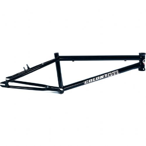 "Colony GTI Mk1 Race BMX Frame - 21.6"" Gloss Black"